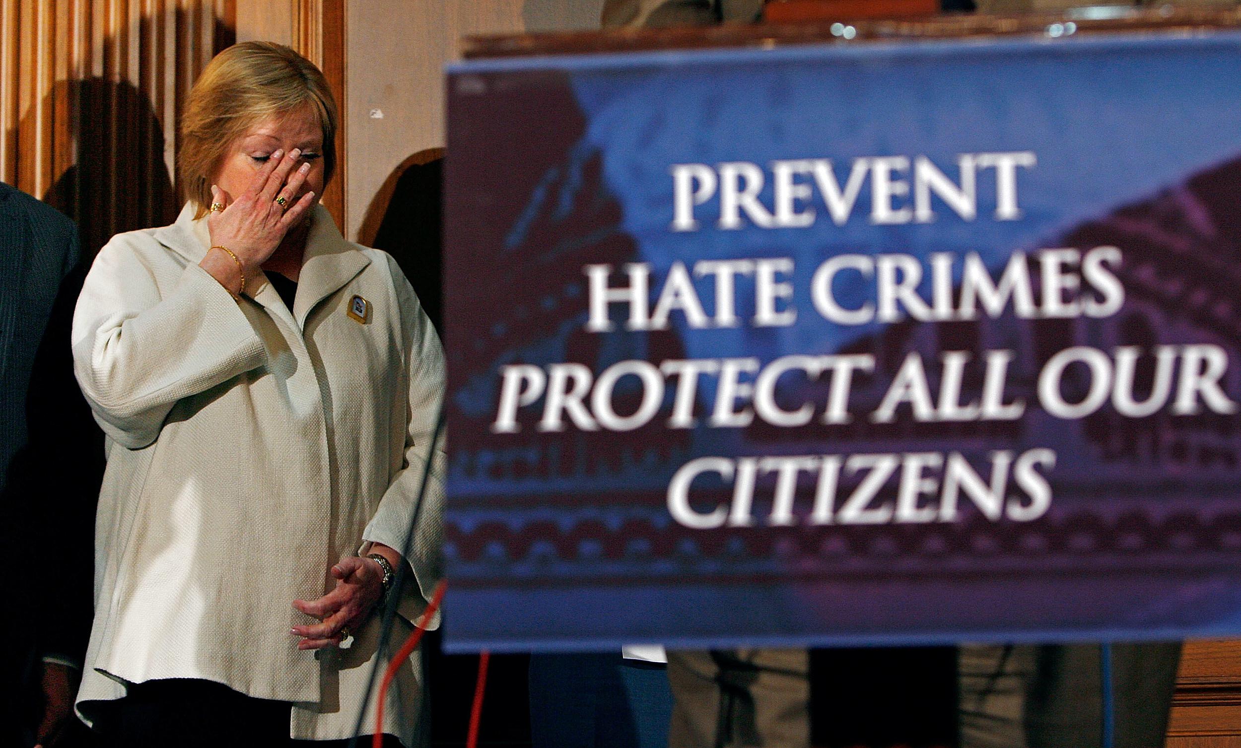 Sens. Gordon Smith And Ted Kennedy Reintroduce Hate Crimes Legislation