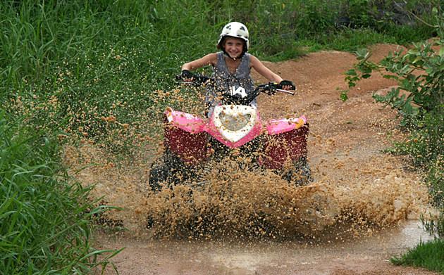Quad Bike Mud Fun