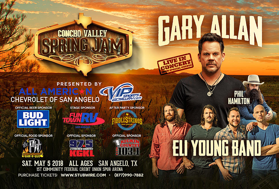 Gary Allan In San Angelo This Saturday